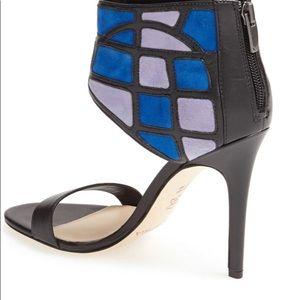 Brand New Via Spiga leather & suede sandal